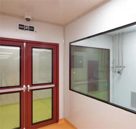钢质门固定窗